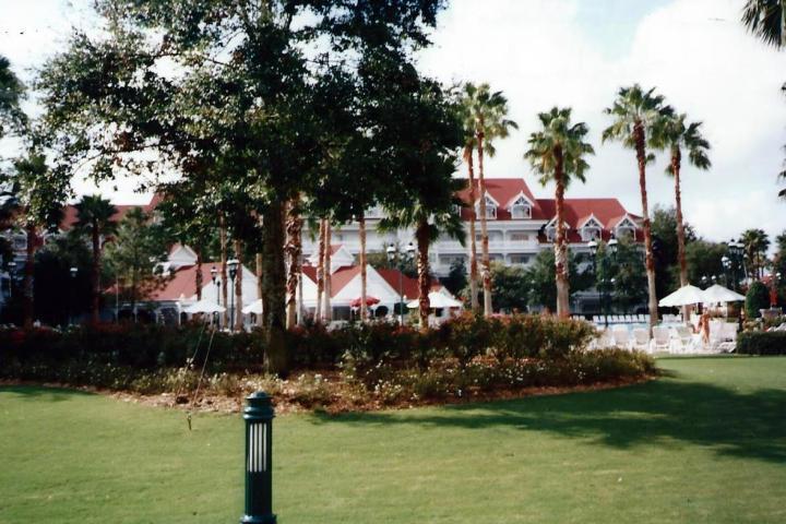 Grand Floridian Beach Resort -- Sept. 6. 1995.
