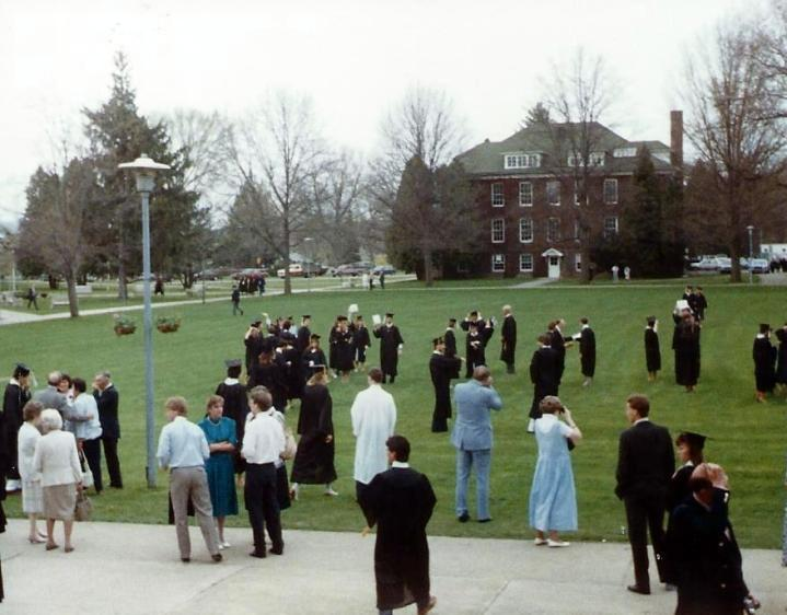 Woolsey Hall disappeared soon after we graduated.
